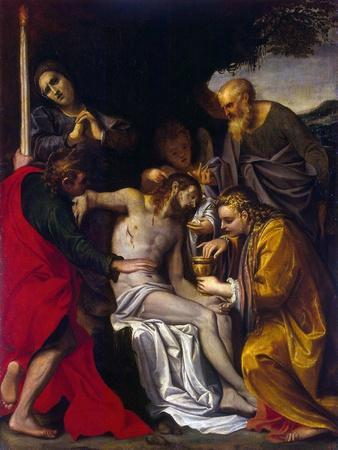 The Lamentation over Christ, C1586