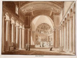 San Pietro in Vincoli, 1833 by Agostino Tofanelli