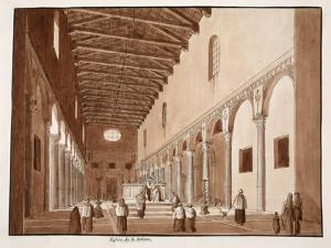 The Church of Santa Sabina, 1833 by Agostino Tofanelli