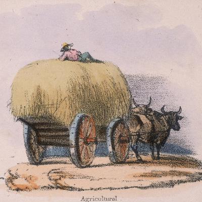Agricultural, C 1845-Robert Kent Thomas-Giclee Print