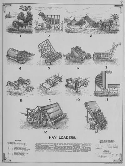 Agricultural Implements - Hay Loaders--Giclee Print