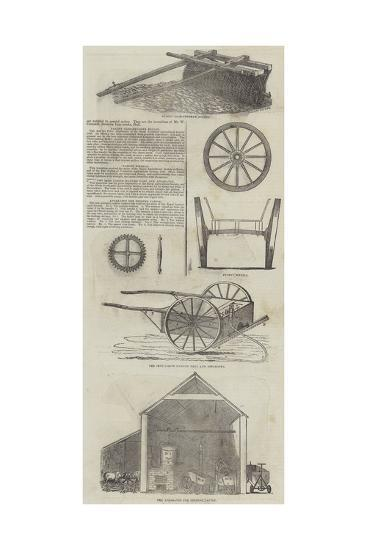 Agricultural Machinery--Giclee Print