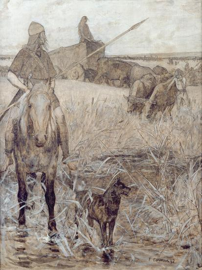Agriculture, 1892-Fernand Cormon-Giclee Print