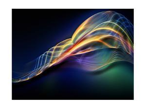 Fractal Waves Composition by agsandrew