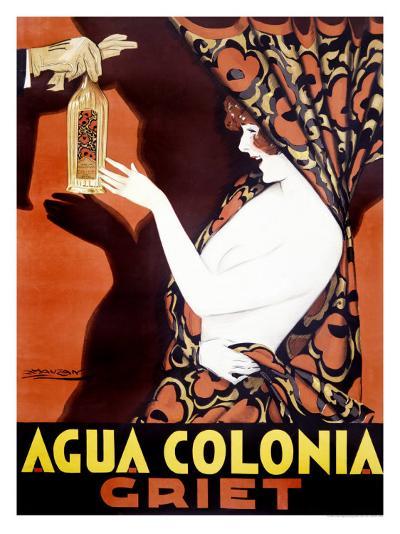 Agua Colonia Griet-Achille Luciano Mauzan-Giclee Print