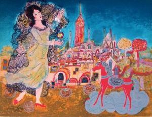 La jeune princesse by Agustin Ubeda