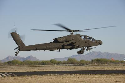 Ah-64D Apache Longbow Lifts Off on a Mission-Stocktrek Images-Photographic Print