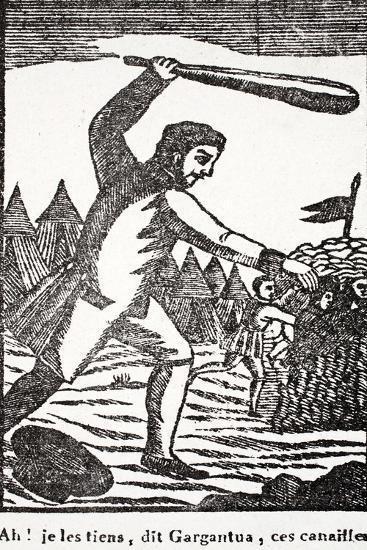 Ah! I Have You Rascals, Says Gargantua--Giclee Print