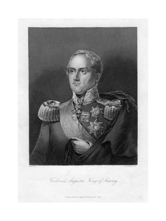 Frederick Augustus I, King of Saxony, 19th Century