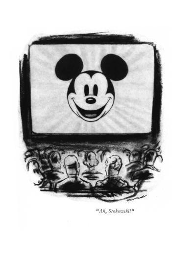 """Ah, Stokowski!"" - New Yorker Cartoon-Leonard Dove-Premium Giclee Print"