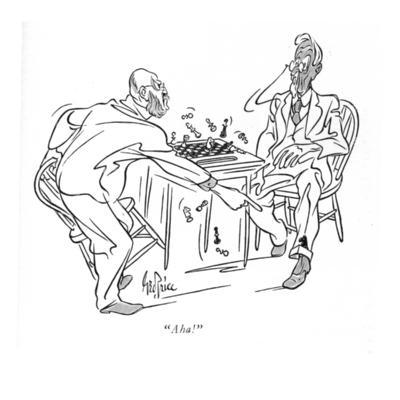 """Aha!"" - New Yorker Cartoon-George Price-Premium Giclee Print"