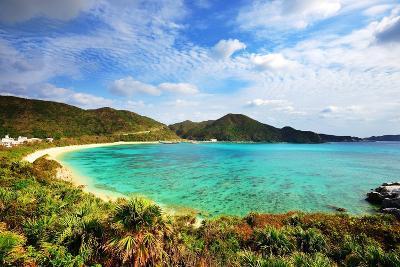 Aharen Beach on the Island of Tokashiki in Okinawa, Japan.-SeanPavonePhoto-Photographic Print