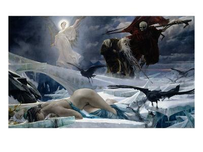 Ahasuerus at the End of the World-Adolph Hiremy-Hirschl-Giclee Print