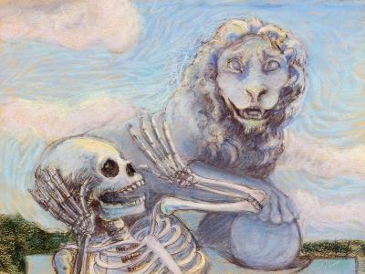 Ahh! Scary!-Marie Marfia-Giclee Print