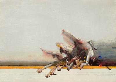 Le saut by Ahmed Shahabuddin
