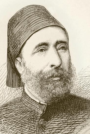 Ahmet Pasha--Giclee Print