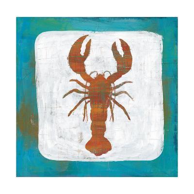 Ahoy II Red Blue-Melissa Averinos-Art Print