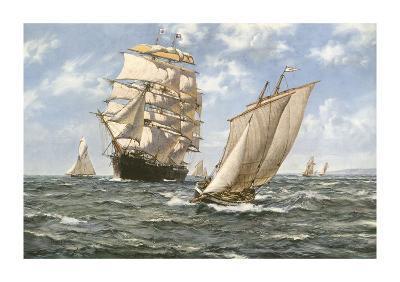 Ahoy!-Montague Dawson-Premium Giclee Print