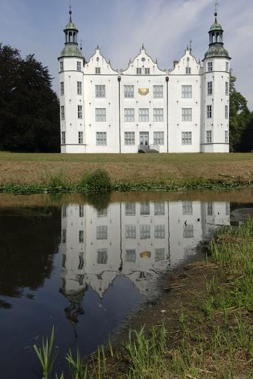 Ahrensburg Castle, Built in Renaissance Style in 16th Century, Schleswig-Holstein, Germany--Photographic Print