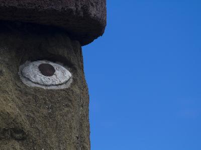 Ahu Ko Te Riku Moai at Ahu Tahai, Easter Island-Michael Melford-Photographic Print