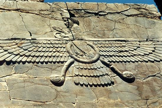 Ahura Mazda, Persepolis, C500 Bc--Photographic Print