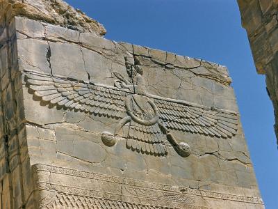 Ahura Mazda, Supreme God in Zoroastrianism, Persepolis, Unesco World Heritage Site, Iran-Richard Ashworth-Photographic Print