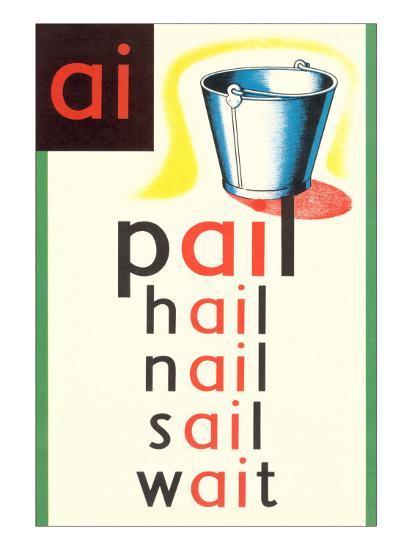 AI in Pail--Art Print
