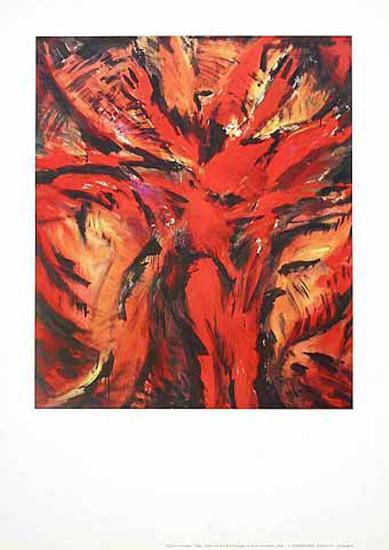 Aida Rot-Barbara Heinisch-Art Print