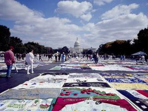 Aids Quilt Is a Memorial to and Celebration of the Lives of People Lost to the Aids Pandemic