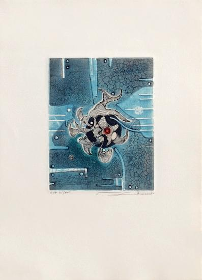 Aigue marine--Collectable Print