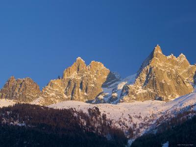 Aiguille du Midi, Chamonix, Haute Savoie, France-Walter Bibikow-Photographic Print