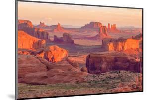 Sunrise at Hunts Mesa Viewpoint by aiisha