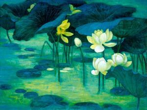 Emerald Pond by Ailian Price