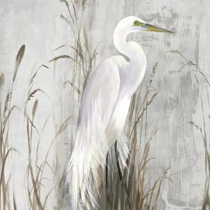 Heron in the Reeds by Aimee Wilson
