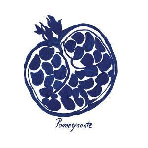 Indigo Pomegranate by Aimee Wilson