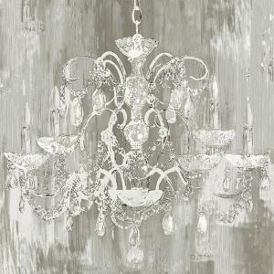 Silver Chandelier by Aimee Wilson