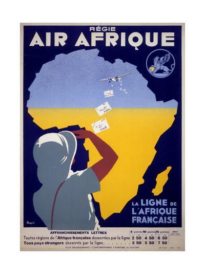 Air Afrique--Giclee Print