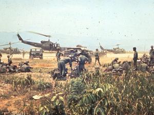 Air and Space: Bell HU-1As in Vietnam