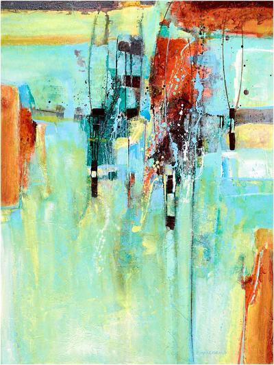 Air baskets-Carole Malcolm-Art Print