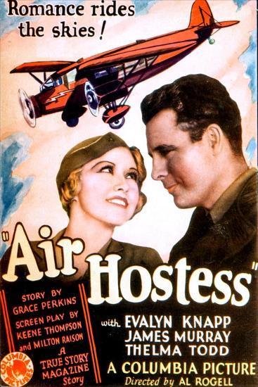 Air Hostess, Evalyn Knapp, James Murray, 1933--Art Print