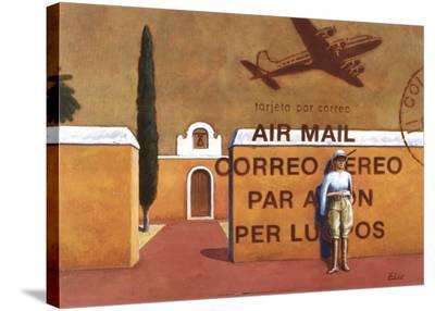 Air Mail-Elio Ciol-Stretched Canvas Print