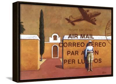 Air Mail-Elio Ciol-Framed Canvas Print