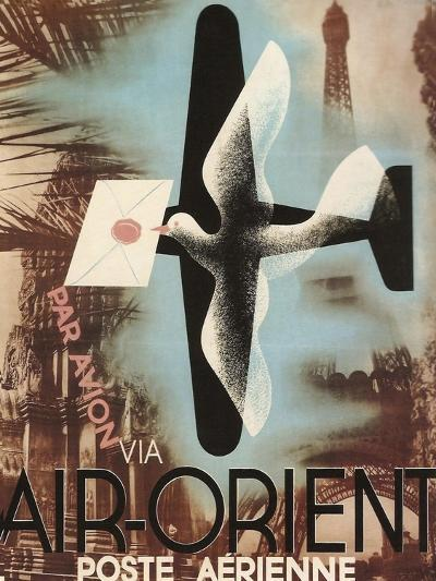 Air Orient Dove--Giclee Print