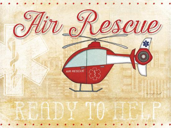 Air Rescue-Jennifer Pugh-Art Print