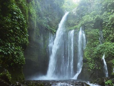 Air Terjun Tiu Kelep Waterfall, Senaru, Lombok, Indonesia, Southeast Asia, Asia-Jochen Schlenker-Photographic Print