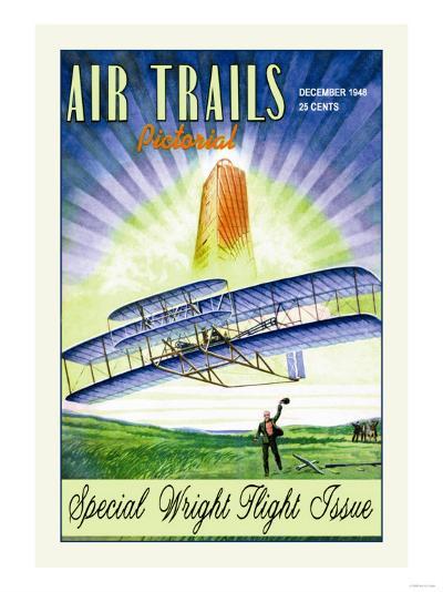 Air Trails Pictorial--Art Print