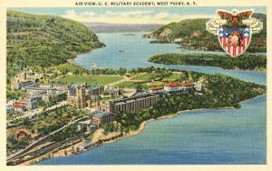 Air View, U.S. Military Academy, West Point, New York