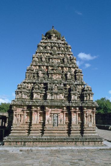 Airatesvara Temple, Dharasuram, Tamil Nadu, India-Vivienne Sharp-Photographic Print