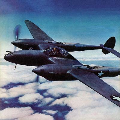 """Airborne Bomber,"" August 29, 1942-Ivan Dmitri-Giclee Print"