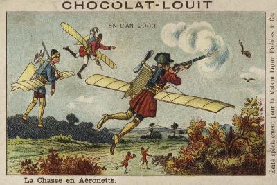 Airborne Hunting in the Year 2000--Giclee Print